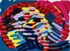 Karel Appel Once I Was The Sun