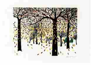 Ann T Cooper Falling Leaves
