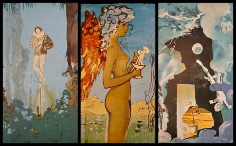 Salvador Dali Trilogy of Love Suite With Original