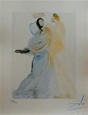 Salvador Dali Divine Comedy Heaven Canto 18