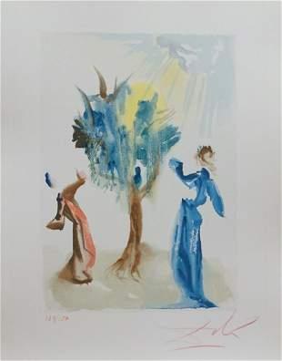 Salvador Dali Divine Comedy Purgatory Canto 24