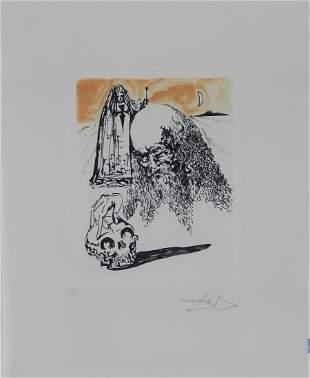 Salvador Dali La Vida es Sueno Viellart Tete de Mort