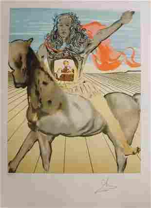 Salvador Dali Chevalier Surrealiste