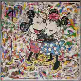 Mr. Brainwash Mickey and Minnie