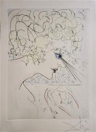 Salvador Dali La Venus Aux Fourrures The Head