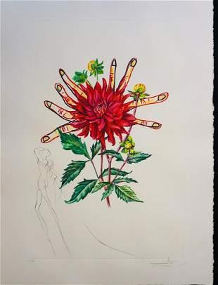 Salvador Dali Florals Dahlia Venus