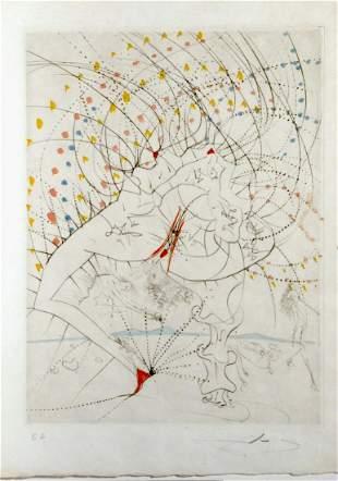 Salvador Dali La Venus aux Fourrures Lady Leaf