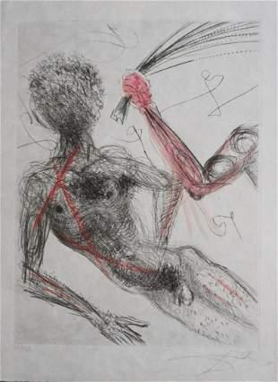 Salvador Dali La Venus aux Fourrures Woman with Whip