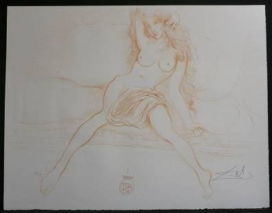 Salvador Dali Nudes Young Woman Arising