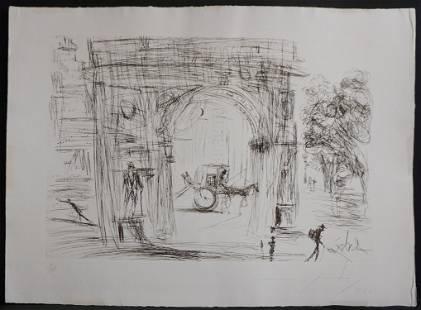 Salvador Dali New York City Washington Gate