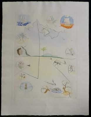 Salvador Dali Twelve Tribes of Israel Frontispiece