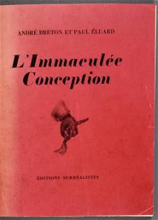 Paul Eluard, Andre Breton L Immaculate Conception Book