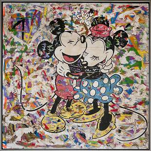 Mr. Brainwash Mickey and Minnie