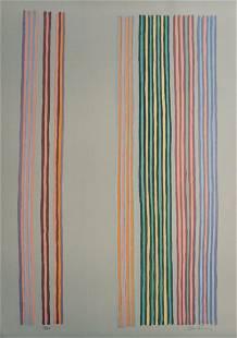 Gene Davis Royal Curtain