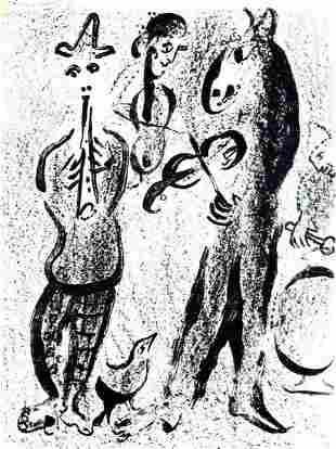 Marc Chagall Les Saltimbanques M. 395