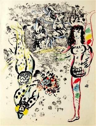 Marc Chagall Le Jeu des Acrobates