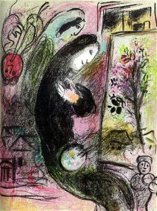 Marc Chagall L Inspire M.398