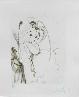 Salvador Dali Divine Comedy Heaven Canto 28