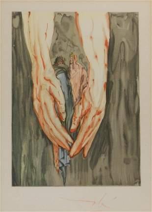 Salvador Dali Divine Comedy Hell Canto 11
