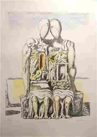 Giorgio de Chirico Gil Archeologi