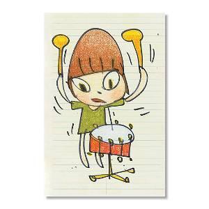 Yoshitomo Nara Banging The Drum