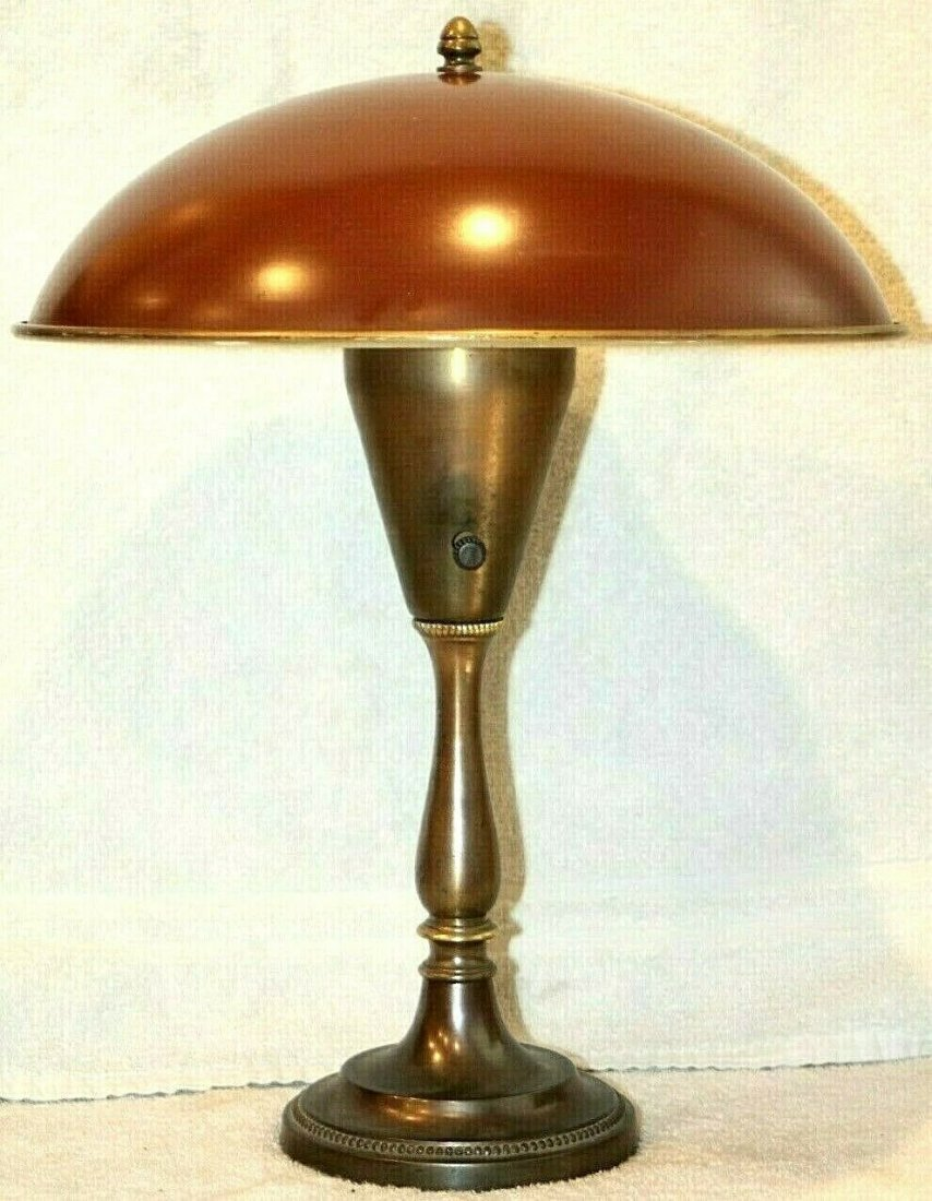 Mid-Century Modern Space Age Table Lamp