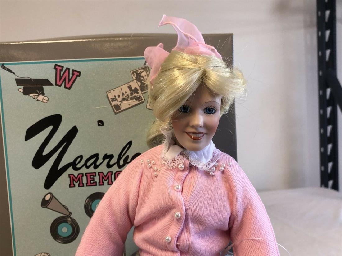 "Edwin Knowles 16"" Porcelain ""Peggy Sue"" Doll - 2"