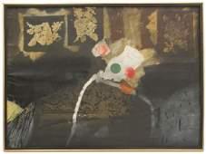 "ANTONI CLAVÉ (1913-2005) ""Peinture"", 1972."