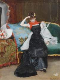 """RAIMUNDO DE MADRAZO Y GARRETA (1841-1920). """"YOUNG"""