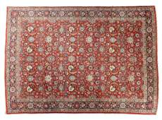 LARGE PERSIAN CARPET SECOND HALF C20th