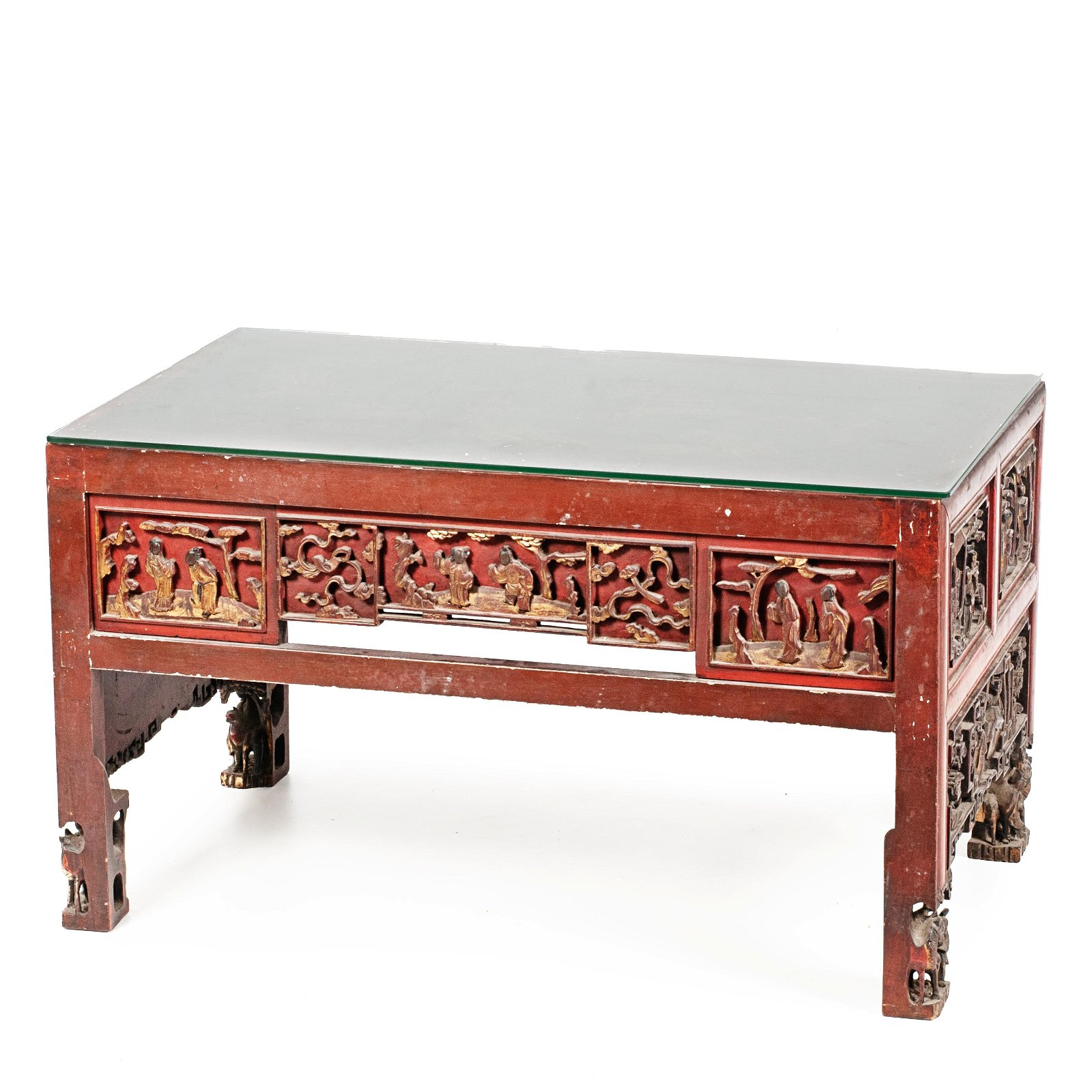 CHINESE COFFEE TABLE, FIRST THIRD C20th.