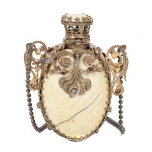 SMALL FRENCH PERFUME BOTTLE, SECOND HALF OF THE 19TH
