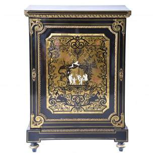 FRENCH NAPOLEON III STYLE CABINET, FIRST THIRD OF THE