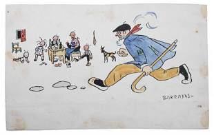 "RAFAEL BARRADAS (1890-1929). ""ILLUSTRATION""."