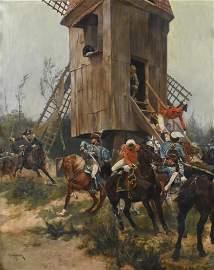 "RICHARD CATON II WOODVILLE (1856-1927). ""BATTLE OF"
