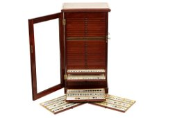 An Exceptionally Large Cabinet of Microscope Slides,