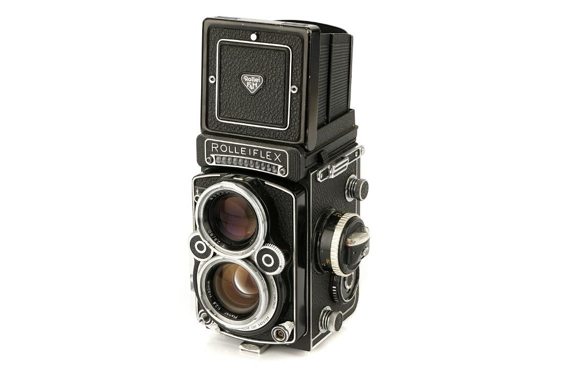 A Rollei Rolleiflex 2.8F TLR Camera,