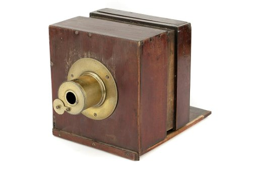 An Unusual Daguerreotype Sliding Box Camera