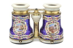 A Pair of Opera Glasses with Oval Lenses,