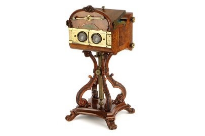 A Very Fine J. Wood Natural Stereoscope,