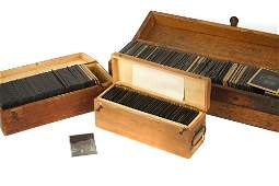 Collection Of French Negatives & Magic Lantern Slides