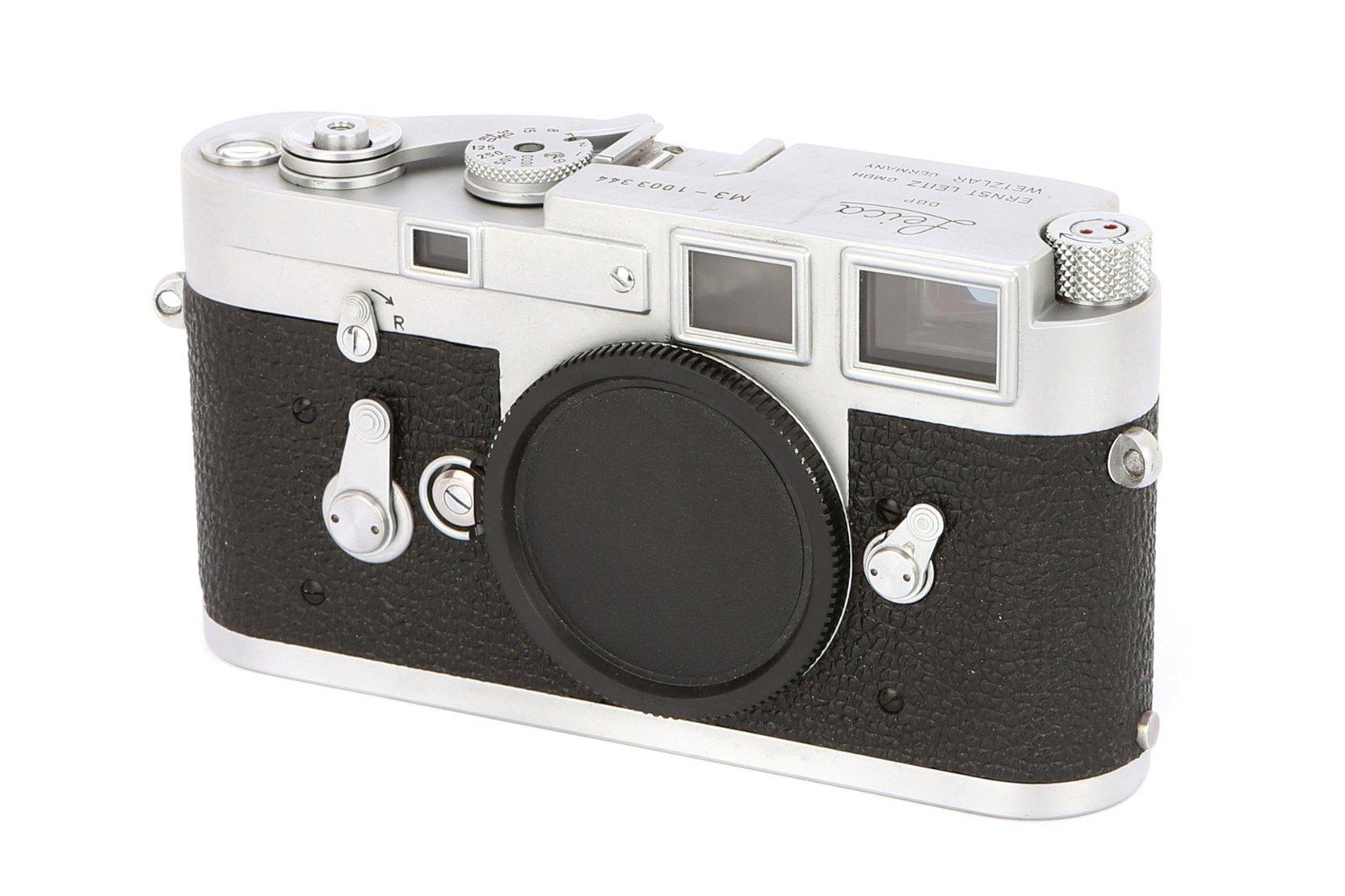 * A Leica M3 SS Rangefinder Body,