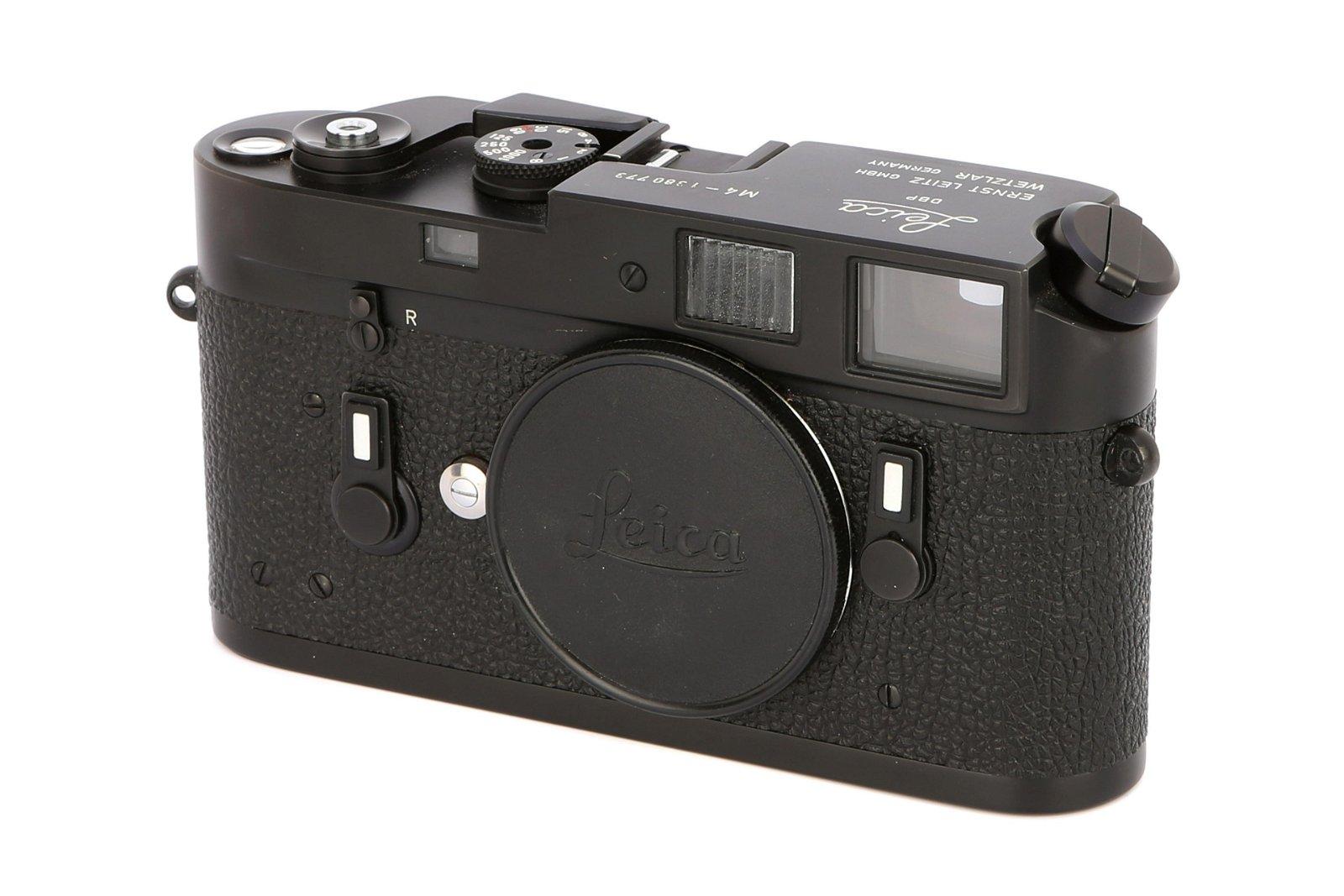 * A Leica M4 Rangefinder Body,