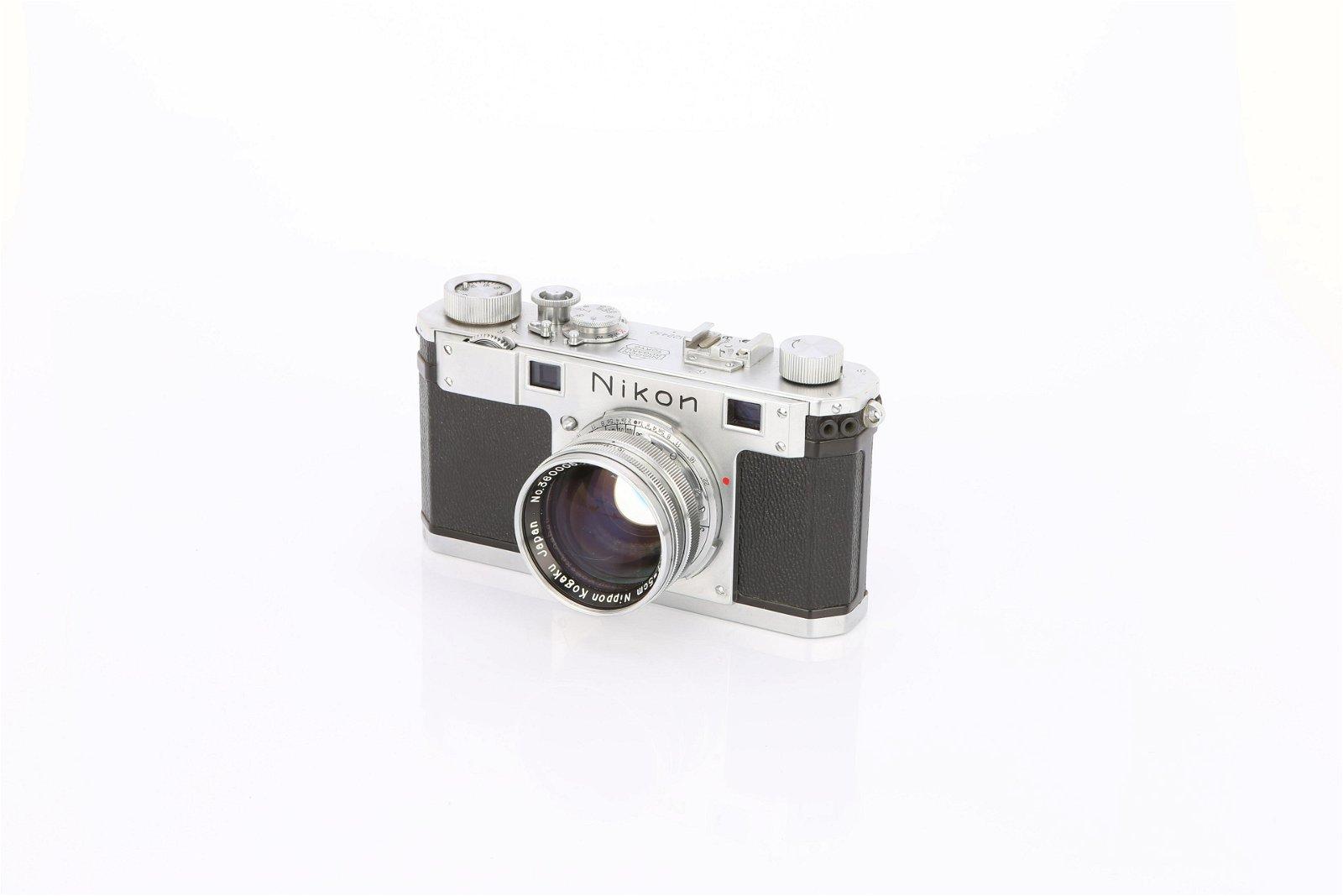 * A Nikon S Rangefinder Camera,
