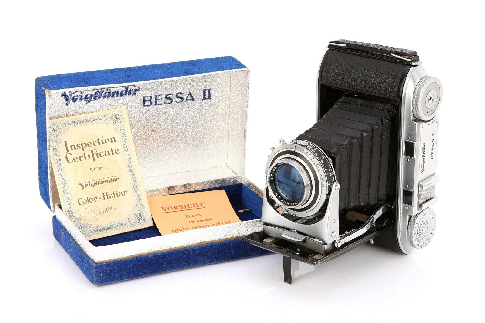 * A Voigtlander Bessa II Rangefinder Camera,