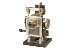 A Powers Cameragraph No.5 Hand Crank 35mm Projector,