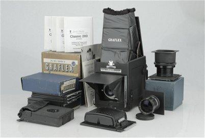 A Graflex Super R.B. Super D Reflex Camera,