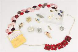 A Small Collection of Costume Jewellery