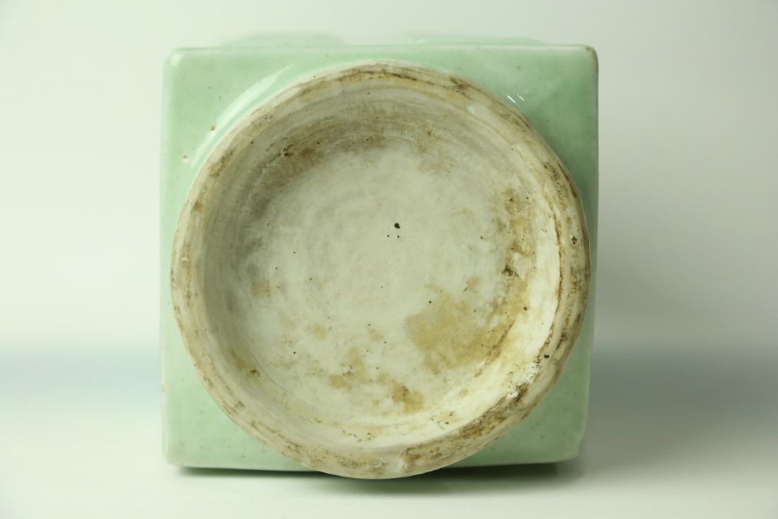 A Chinese Celadon Porcelain Vase - 5