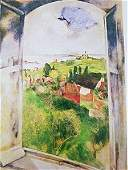 Marc Chagall - The Window